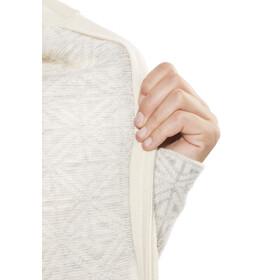 Fjällräven Övik - Chaqueta Mujer - beige/blanco